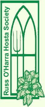 Russ O'Harra Hosta Society logo